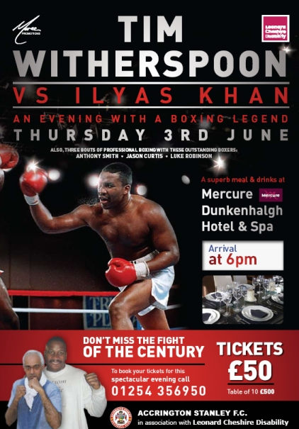 Tim Witherspoon Vs Ilyas Khan