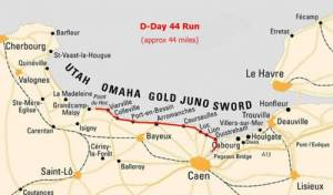 DDay Run Route