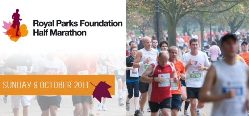 The Royal Parks Half Marathon, Sunday 9 October 2011