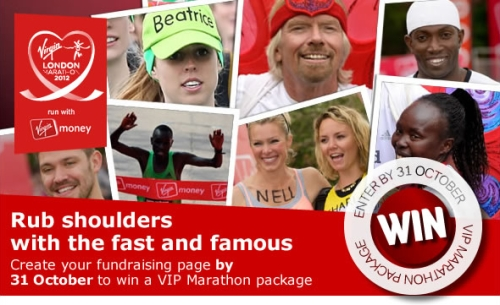 VIP your Virgin London Marathon