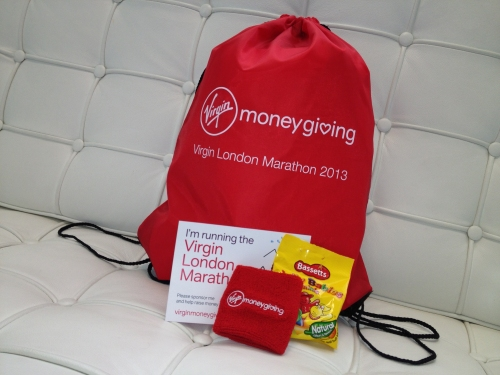 Virgin Money Giving Kit Bags