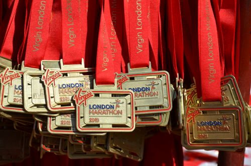 Virgin London Marathon Finisher Medals