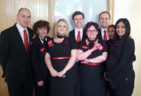 Virgin Money Store staff