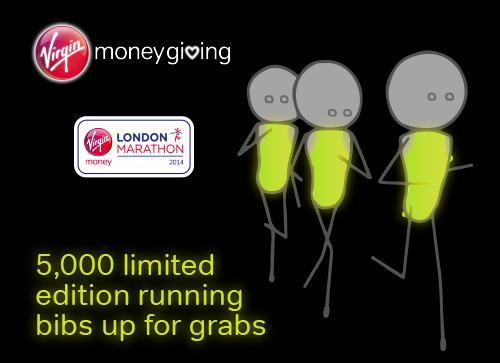 Virgin Money London Marathon Bibs