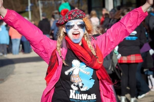 Kiltwalk Girl